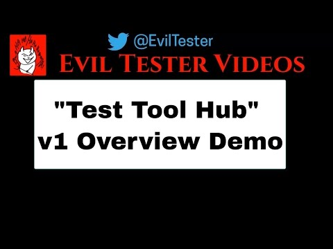 Test Tool Hub V1 Overview Demo - Counterstrings, Bookmarks, String Generation, Html Comment Finder
