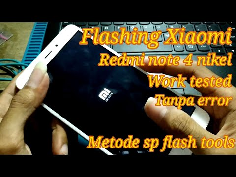 cara-flash-xiaomi-redmi-note-4-nikel
