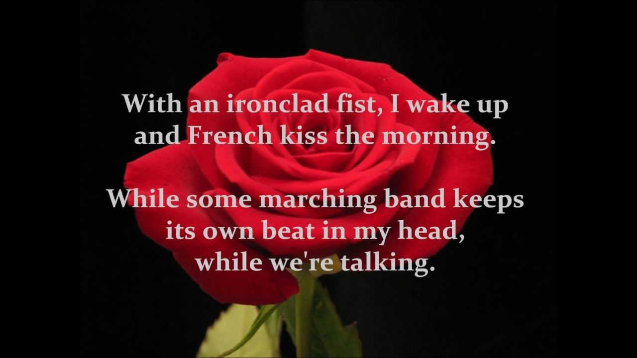Bon Jovi Bed Of Roses With Lyrics On Screen Youtube