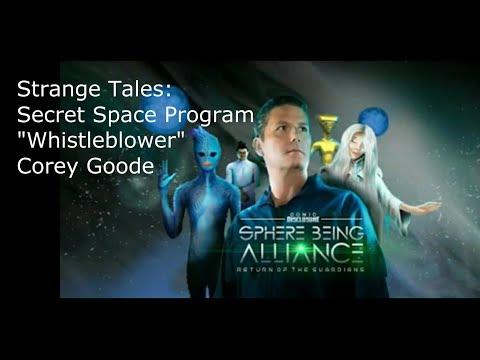 "Strange Tales: Secret Space Program ""Whistleblower"" Corey Goode"