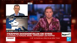 Frappes en Syrie :