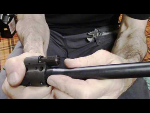 Sig MPX Removal of Gas Valve & Tappet To Clean