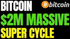 Bitcoin (BTC) Could Soar to $2,000,000 in Massive 'Super Cycle' Says Kraken Executive - Here's Why
