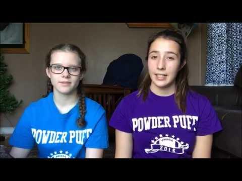 Powderpuff 2016   Spanish exchange student in USA.