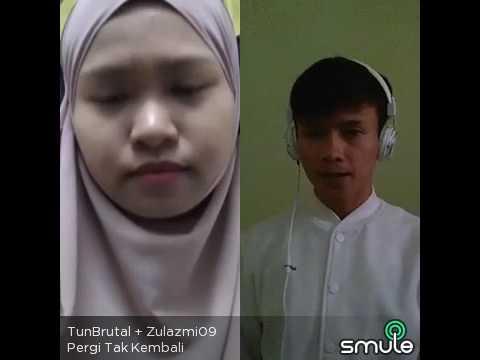 Pergi Tak Kembali Cover By TunBrutal ft Zulazmi09