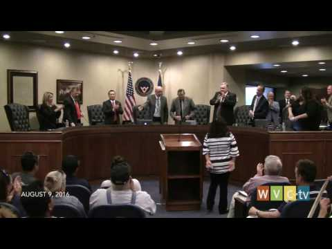 West Valley City Council Meeting, August 9, 2016