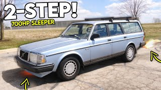 homepage tile video photo for Setting Up 2-STEP & LAUNCH CONTROL On My 700HP Sleeper...