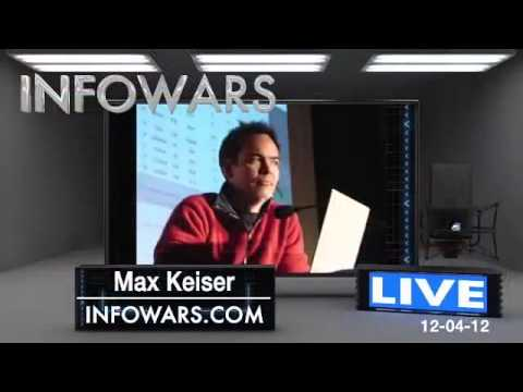 Alex Jones Talks To Max Keiser: 2013, Year of The Great Crash