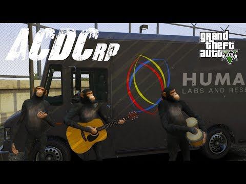 GTA 5 ACDCrp - Episode 25 - Monkey Business!