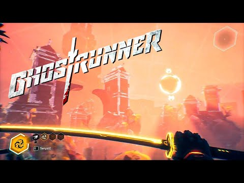 GHOSTRUNNER #4 | PC Walkthrought No Commentary FULL GAME |