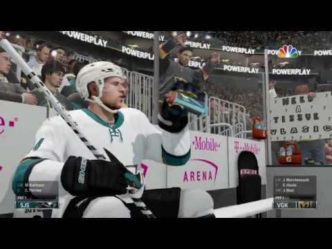NHL® 18 San Jose Sharks vs Vegas Golden Knights