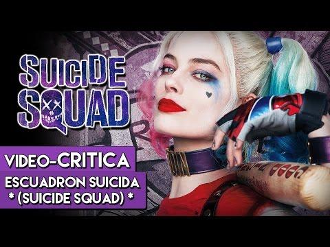 Vídeo Crítica ESCUADRÓN SUICIDA el show de Harley Quinn  Mi opinión sobre la peli