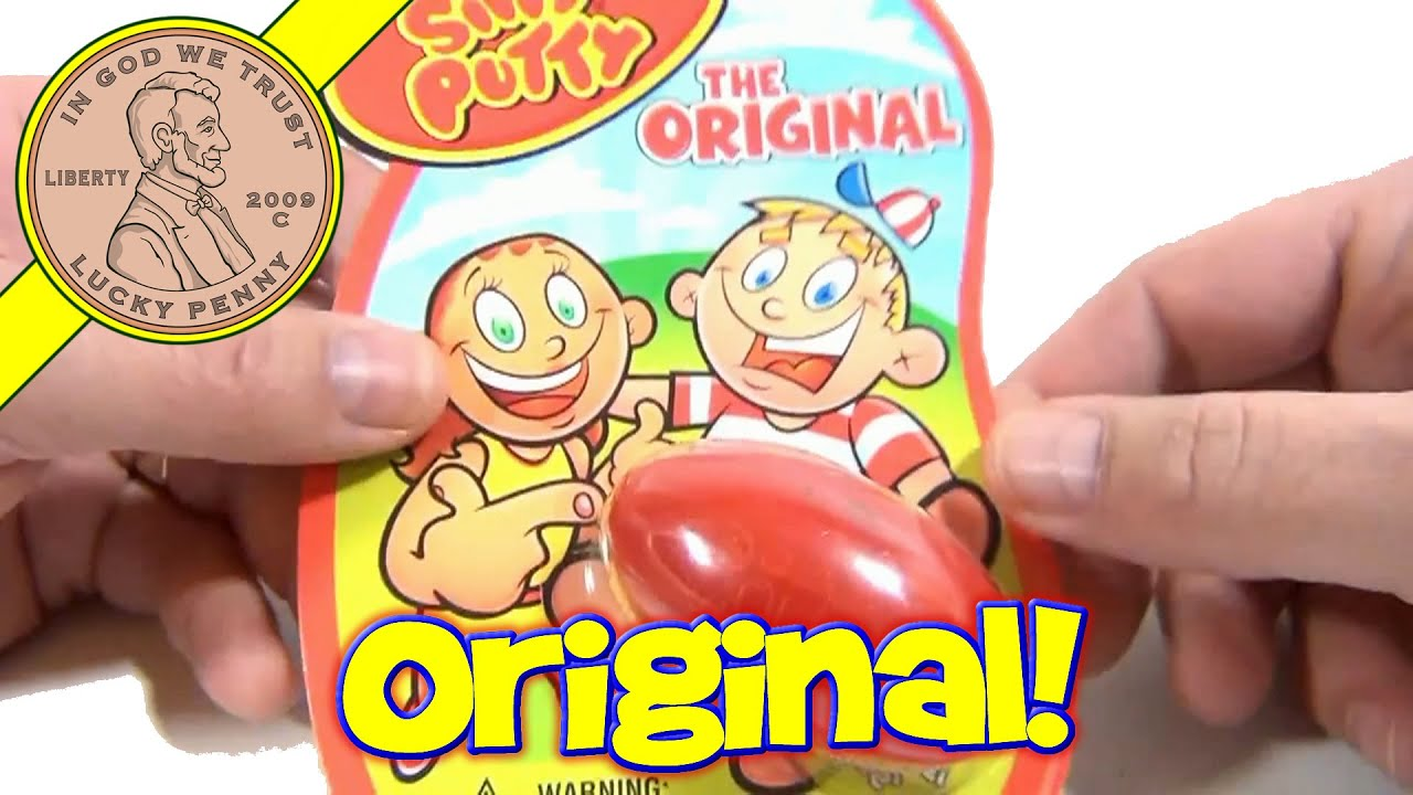 silly putty the original bounces molds stretches snaps more