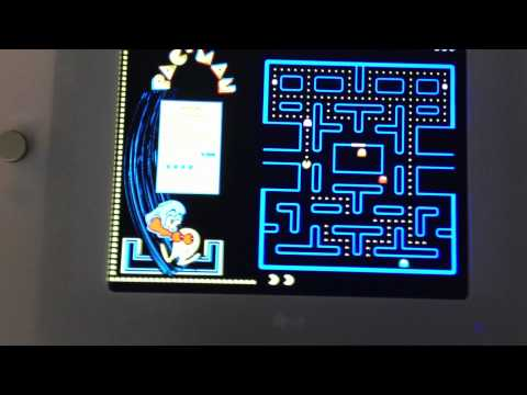 Playing Pacman at the Computer History Museum in Mountain View