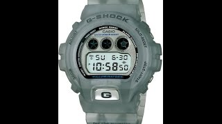 настройка Casio G-shock DW-6900-WF-8T