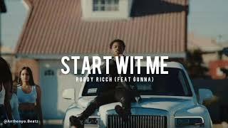 Roddy ricch - start wit me (feat.Gunna) [official instrumental] reprod.Anthonyo beatz