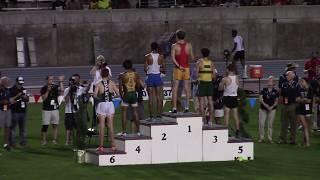2018 California State Meet Boys 3200 meters