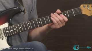 GUITAR STYLES: Playing for the Song (R&B Style)