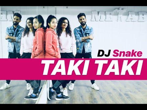 DJ Snake - TAKI TAKI Zumba   TAKI TAKI Hip Hop Dance Workout Choreography   FITNESS DANCE With RAHUL