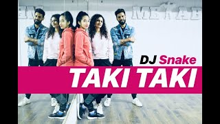 DJ Snake - TAKI TAKI Zumba | TAKI TAKI Hip Hop Dance Workout Choreography | FITNESS DANCE With RAHUL