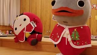 なるまちゃん くつろぎのポーズ なかやま山芋まつり 2017年