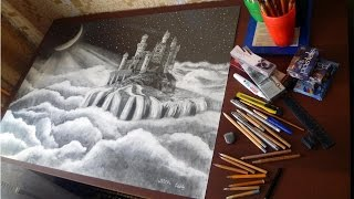 NEUSCHWANSTEIN CASTLE DRAWING ISP 2014