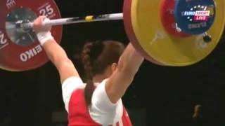 Женщины 63кг  Рывок. ЧМ 2011. Тяжёлая атлетика