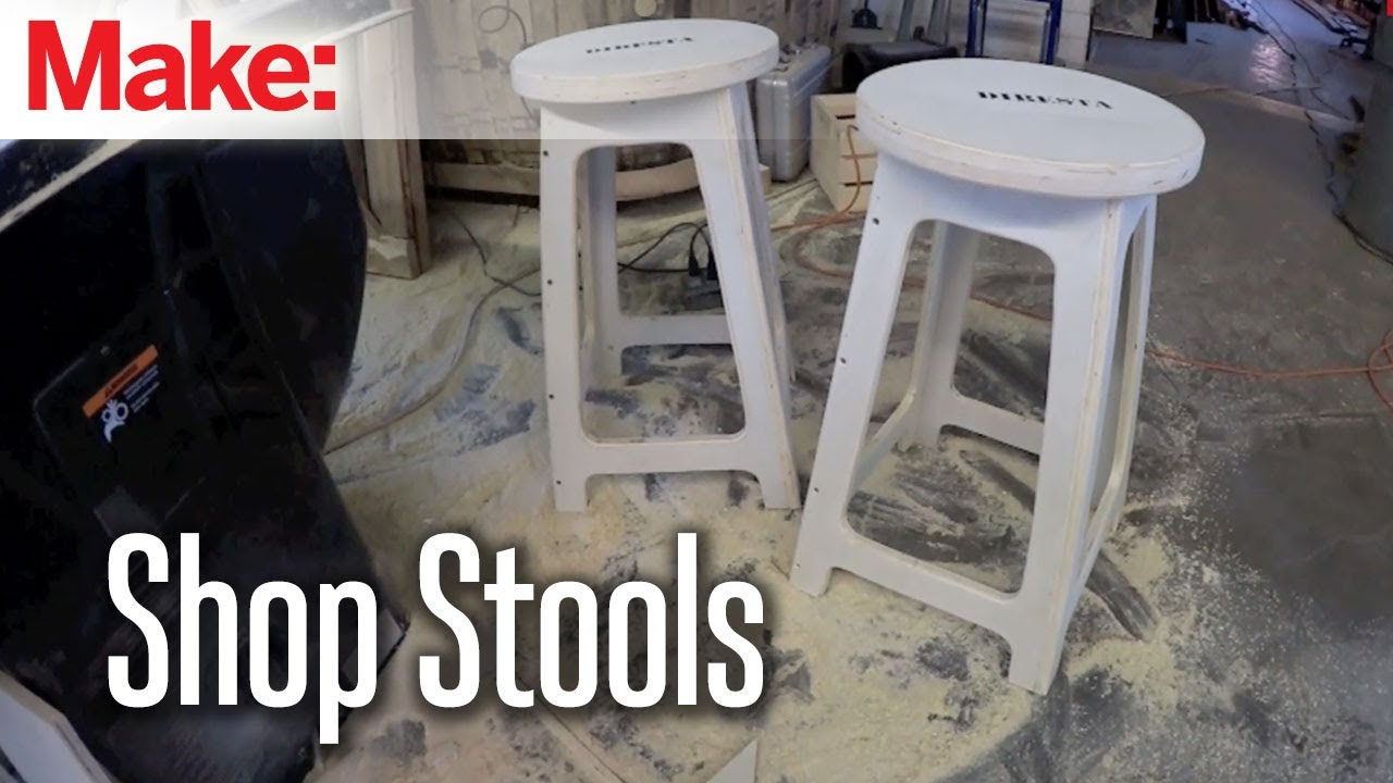 piece stools intectural o made stool create sheet from shop finished richlite using