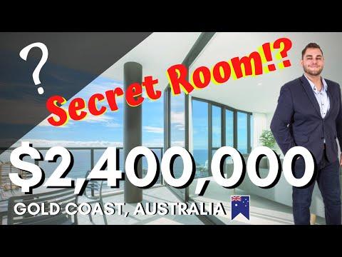 Inside a $2.4 Million Ocean side Sub-Penthouse with a secret room?!