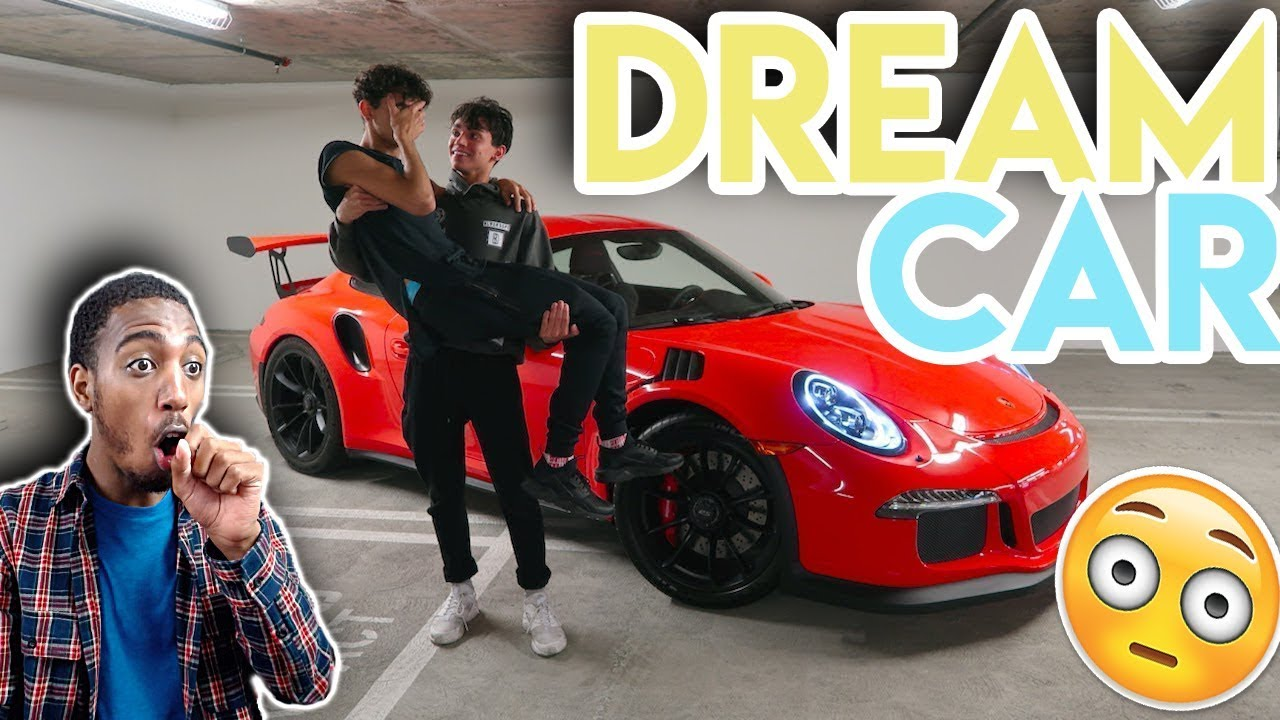 lucas and marcus he actually bought me my dream car reaction youtube. Black Bedroom Furniture Sets. Home Design Ideas