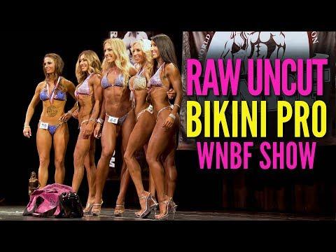 RAW UNCUT Bikini Pro WNBF Show