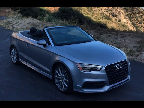 2015 audi a3 2 0t s line cabriolet one take youtube. Black Bedroom Furniture Sets. Home Design Ideas