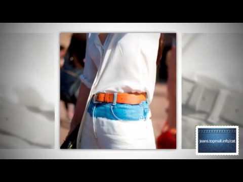 Как ушить штаны - YouTube