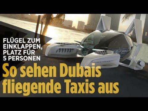 Fliegende Taxis in Dubai / Berlusconi Comeback / Stasi bespitzelte Winnetou