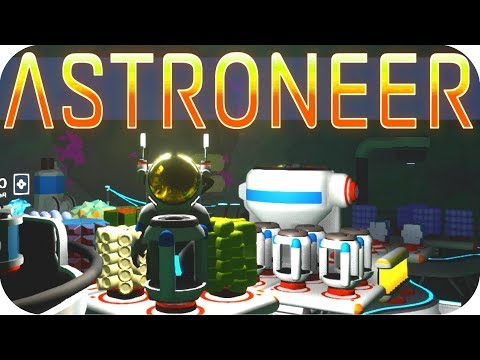 Astroneer Gameplay: DEEP STORAGE!! ▶RESEARCH 2.1 UPDATE◀ Let's Play Astroneer Alpha v0.5.0