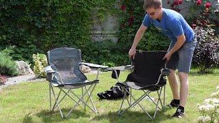 Раскладное кресло «Берег» и «Вояж–комфорт». Обзор складных туристических кресел