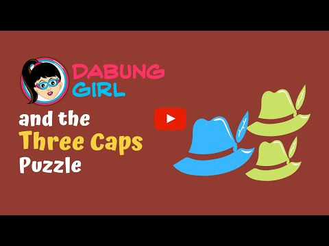 The Three hats Puzzle | Can you identify the cap's colour? | Induction Riddle