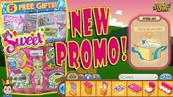 Sweet Magazine Opening! Brand New Animal Jam Sweet Promo Item!