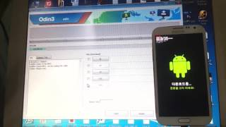 how to flash rom E250L Note 2 to 4 4 3