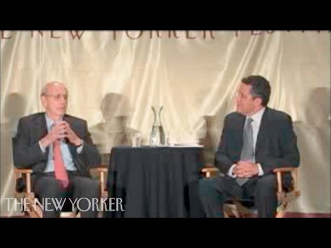 The Honorable Stephen G. Breyer on justice - The New Yorker Festival - The New Yorker