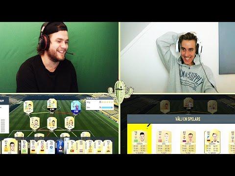 HÖGST FUT DRAFT CHALLENGE MOT GGFROLLE! | Fifa 17 Ultimate Team på svenska!