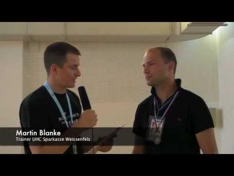 EuroFloorball Cup 2011: Martin Blanke im Interview