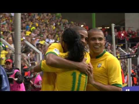 2006 FIFA World Cup Germany™ - Match 55 - Round Of 16 - 🇧🇷 Brazil 3 X 0 Ghana 🇬🇭