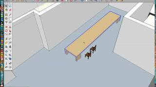(3/4) Importing Objects Into Sketchup-b.h. Supper Club