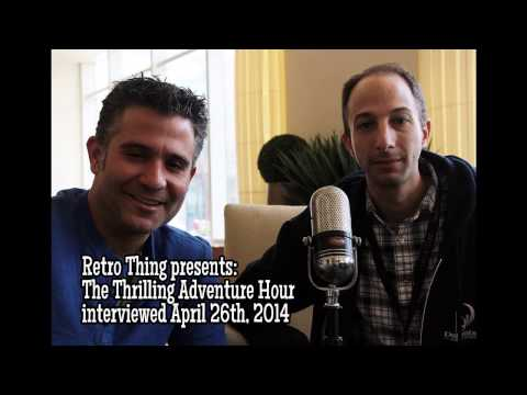 The Thrilling Adventure Hour - Interview by Retro Thing!