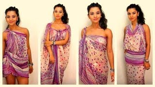 Download How to tie and style your sarong / pareo in 11 different ways - dianasaid.com Mp3 and Videos