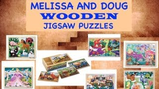 Melissa And Doug Puzzles - Wooden Jigsaw Puzzles - Quality Issue Melissa And Doug Puzzles Toddlers?