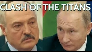 HEATED DISCUSSION! Lukashenko Argues With Putin About Gas Prices And Apologises Afterwards!