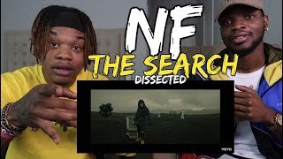 NF The Search DISSECTED REACTION