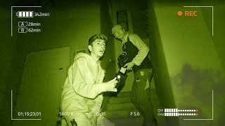 A Real Ghost Hunter Investigated My Haunted House.. **SHOCKING FOOTAGE**